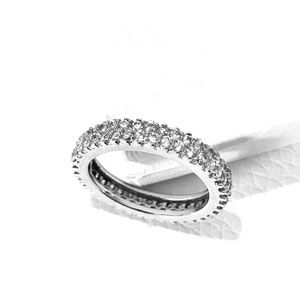 Jewelry - Pave Band 2/5 Carat CZ Ring 6
